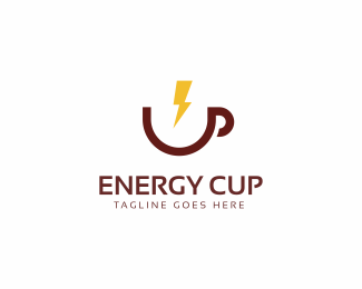 Energy Cup Logo Template