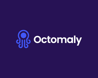 Octomaly Logo Design