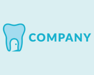 Creative Dental Cartoon Logo Design