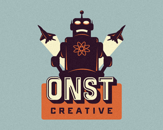 ONST Creative - Robot Logo Suggestion