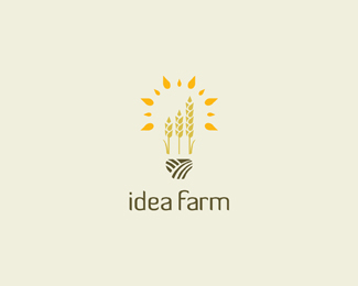 Logo design inspiration #27 - Idea Farm by Ian O'Hanlon