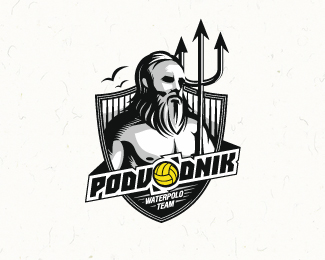 Podvodnik waterpolo team Logo