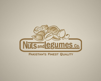 Nuts and Legumes Co. Logo