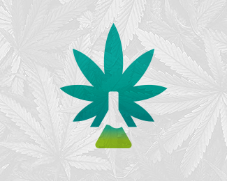Cannabis CBD Lab Logo (for sale)