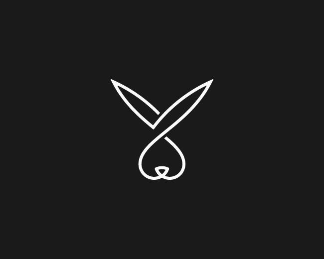 Logopond Logo Brand Identity Inspiration Rabbit Logo