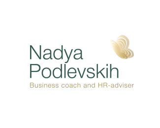 Logo for business coach and HR-adviser