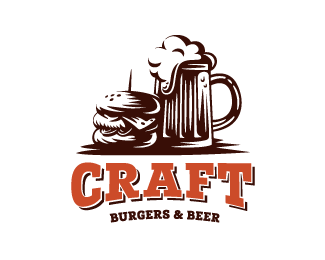 Logopond Logo Brand Identity Inspiration Craft Burgers Beer