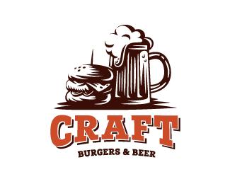 Logopond Logo Brand Identity Inspiration Craft Burgers Beer
