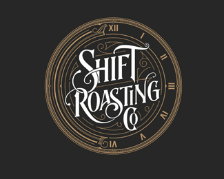 Shift Roasting | Logo | USA
