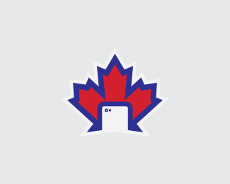 Maple Leaf/Camera Phone Logo Design
