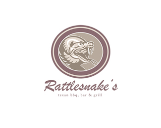 Rattle Snake Texan BBQ Bar and Grill Logo