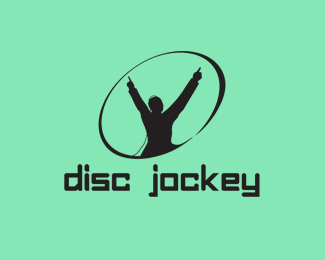 Disc Jockey Logo