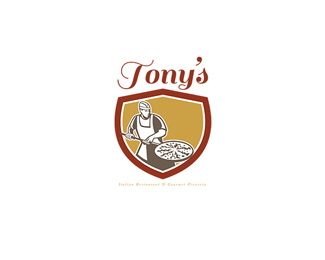 Tony's Italian Restaurant and Pizzeria Logo