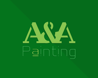 Residential & Commercial Building Painting Logo