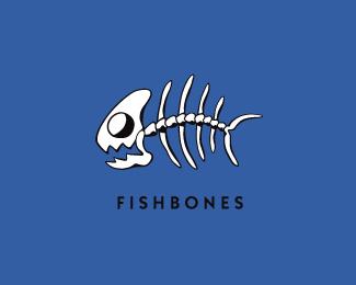 Fishbone logo car interior design for Fish bones restaurant