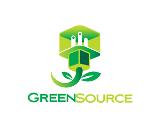 Logopond logo brand identity inspiration green source for Energy efficient brands