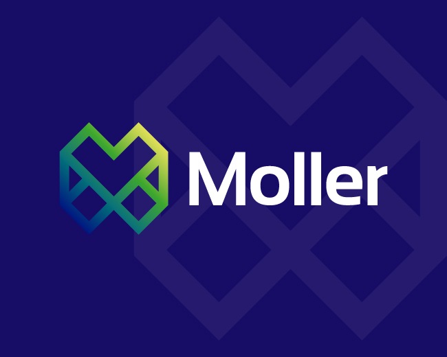 Moller Abstract Letter M Logo