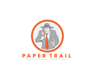 Paper Trail Private Investigators Logo