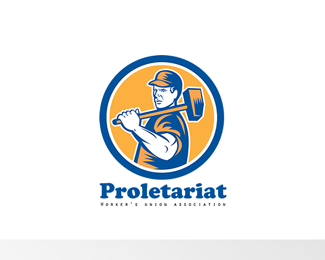 Proletariat Union Workers Association Logo