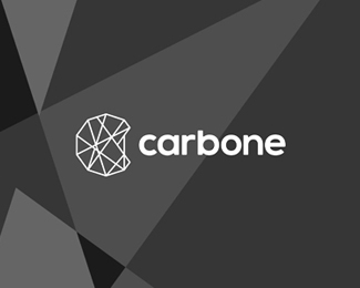Carbone, sport products logo design
