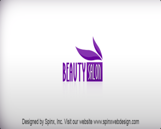 Elegant logo design for your beauty salon