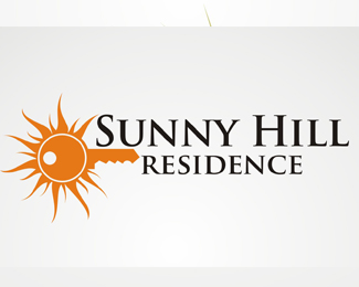 Logopond logo brand identity inspiration sunny hill for Apartment logo inspiration