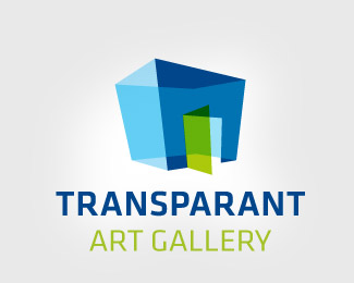 Transparant art gallery