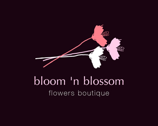 bloom 'n blossom / negative