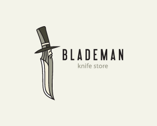 Logo design inspiration #4 - Jura Ku - Blademan
