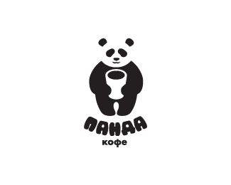Logopond - Logo, Brand & Identity Inspiration (Panda coffee)