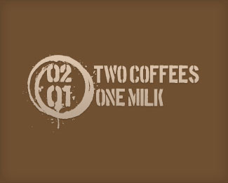 2 Coffees 1 Milk