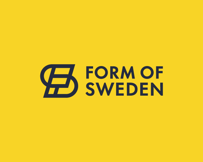 Form of Sweden logo proposal