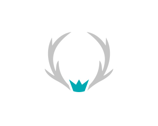 Antler Crown logo concept