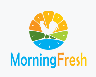 Morning Fresh Logo for Sale