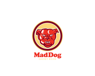Mad Dog Energy Drink, Logo