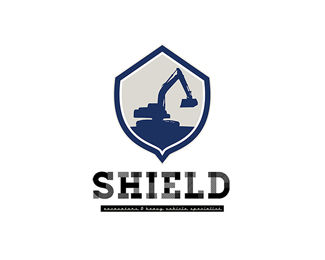 Shield Excavators and Heavy Equipments Logo