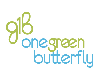 One Green Butterfly