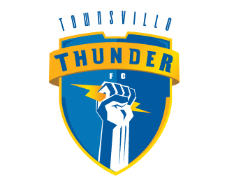 Townsvill thunder Logo two