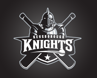 Keysborough Knights Cricket Club Logo