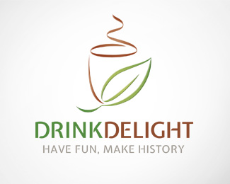 Drink Delight Logo Template