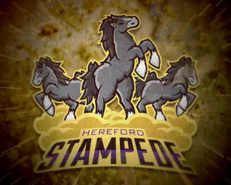 Hereford Stampede Logo