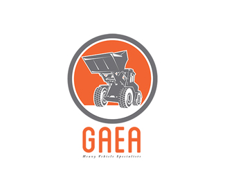 Gaea Heavy Vehicles Logo