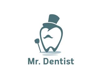 Logopond - Logo, Brand & Identity Inspiration (Mr. Dentist)