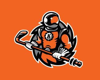 Fort Wayne Komets Alternate Logo