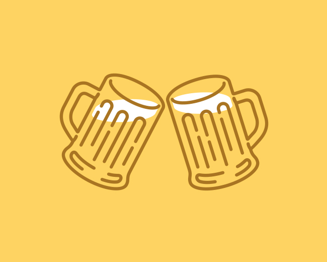 Beer Party 📌 Logo for Sale