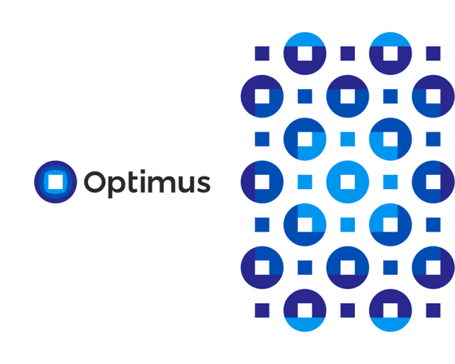 Optimus, logo design for tech engineering company