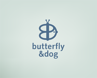 Butterfly & Dog