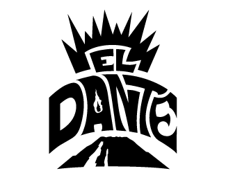 El Dante Logo - Volcano Version