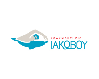 Logopond Logo Brand Identity Inspiration Iakovou Swimming Pool Swimming School V2