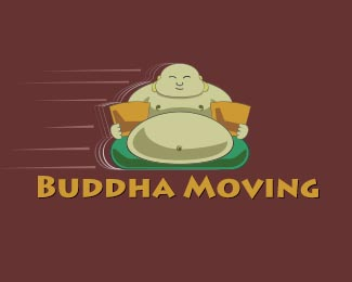 Buddha moving